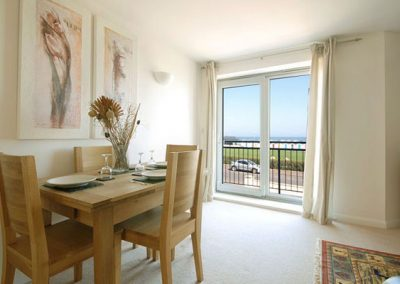 The dining area @ 4 Belvedere Court, Paignton