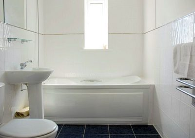 The bathroom @ 4 Belvedere Court, Paignton