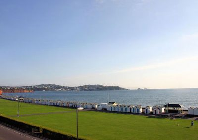 Preston Sands is just a stone's throw away from 4 Belvedere Court, Paignton