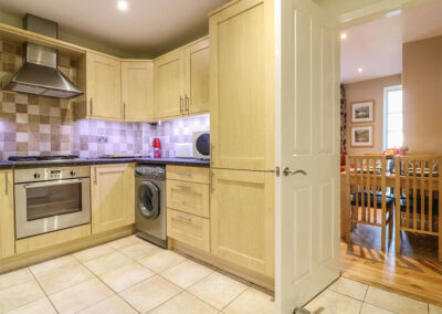 The kitchen at 4 Old Mill Court, Brixham