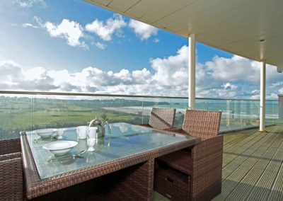 The balcony @ 4 Pearl, Newquay