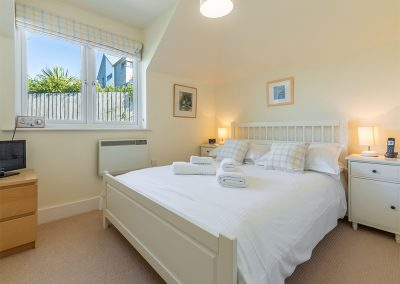 Bedroom #1 at 4 Pentire Rocks, New Polzeath