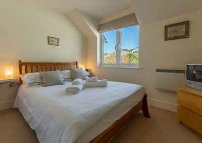 Bedroom #2 at 4 Pentire Rocks, New Polzeath