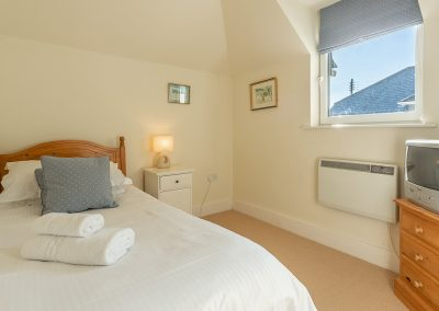 Bedroom #3 at 4 Pentire Rocks, New Polzeath