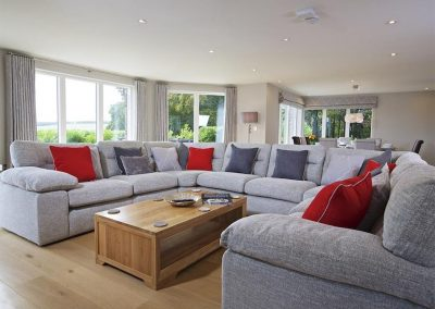 The living area at 4 The Drive, Hillfield Village, Bugford