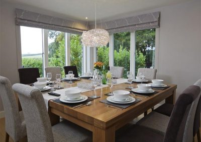 The dining area at 4 The Drive, Hillfield Village, Bugford