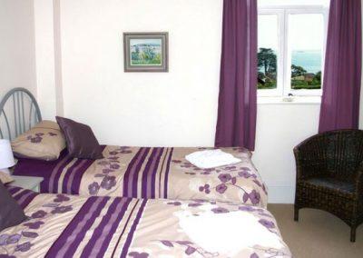 Bedroom #2 @ 4 The Manor House, Torquay