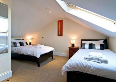 Bedroom #3 @ 4 The Old Edwardian
