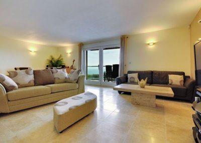 The living area @ 4 The Vista