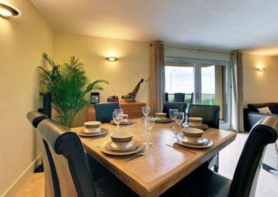 The dining area @ 4 The Vista