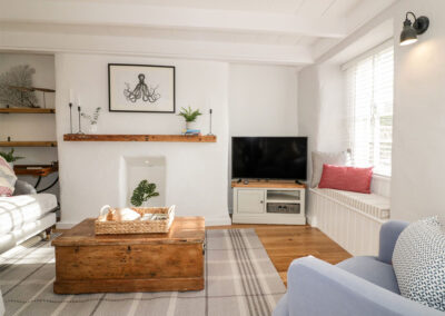 The living area at 5 Church Road, Charlestown