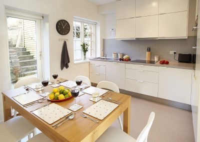 The kitchen & dining area at 5 Hillside, Axmouth