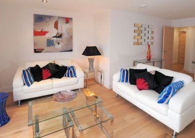 The living area @ 5 Ocean Point, Saunton