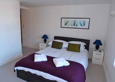 Bedroom 1 @ 5 Queens Quay, Torquay