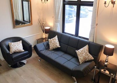 The living area @ 5 Torwood Gables, Torquay