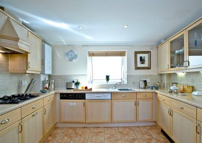 The kitchen at 54 Moorings Reach, Brixham