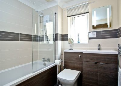 The bathroom at 54 Moorings Reach, Brixham