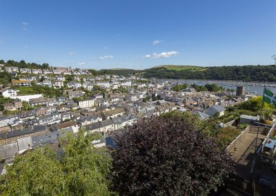 The view from 56 Crowthers Hill, Dartmouth