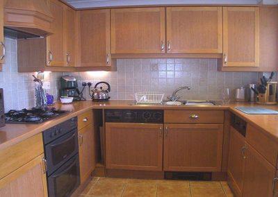 The kitchen @ 56 Moorings Reach