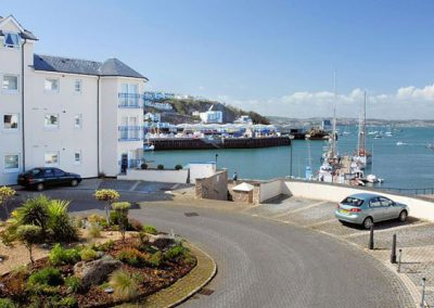 The view from 56 Moorings Reach