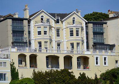 Outside 6 Astor House, Torquay