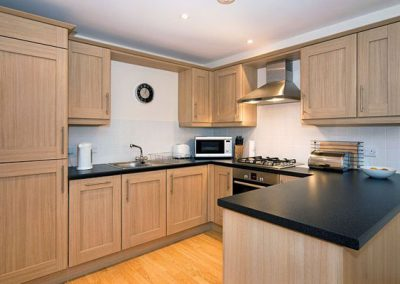 The kitchen @ 6 Harbour View