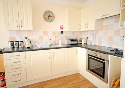 The kitchen @ 6 Linden Court, Brixham