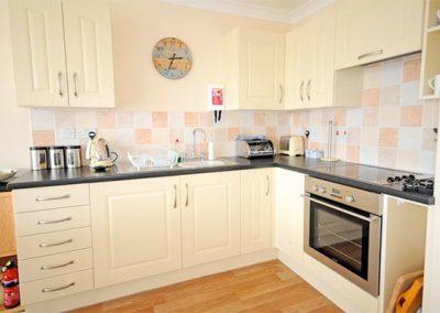 The kitchen @ 6 Linden Court, Brixham
