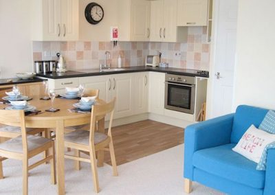 The dining area @ 6 Linden Court, Brixham