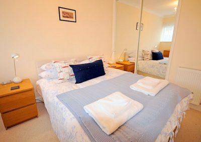 The bedroom @ 6 Linden Court, Brixham