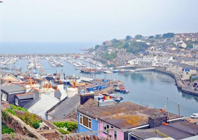 The view from the balcony @ 6 Linden Court, Brixham