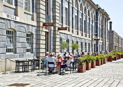 Outside Mills Bakery, Royal William Yard, Plymouth