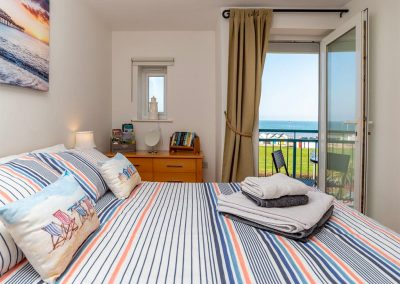 The bedroom at 8 Belvedere Court, Paignton