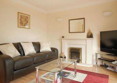 The living area @ 8 The Retreat, Paignton