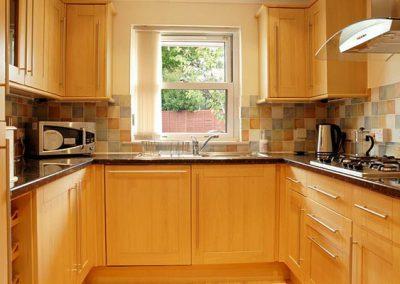 The kitchen @ 8 The Retreat, Paignton