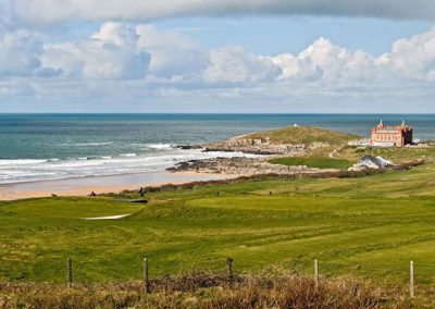 The Vista enjoys views across to Fistral Beach