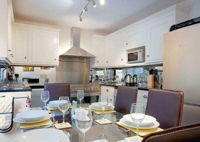 The kitchen @ 8 Torwood Gables, Torquay