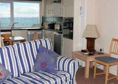 The living area @ 9 Dolphin Court, Brixham