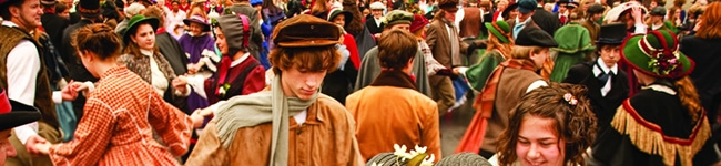 A Dickensian Christmas in Lostwithiel
