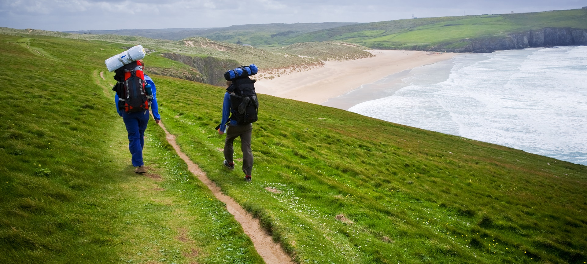 From giant cliffs which plunge into the sea, leafy pathways that ramble along estuaries and views which reach out to an endless, hazy horizon, Cornwall is a walker's paradise.