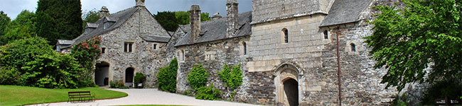 Explore the National Trust property of Cotehele, a Tudor manor and gardens which lead down to a quay and preserved barge on the Tamar.