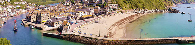 It's a myth that all Victorian seaside resorts have turned into places where the only thing you can do is drink and eat fish and chips. The villages of East and West Looe are still very popular with visitors, but the overall feeling is very relaxed.