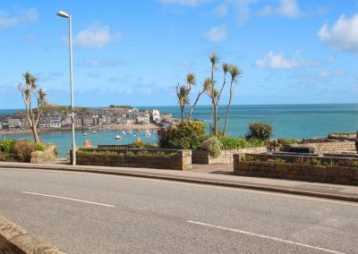 The view from Admiral's View, St Ives