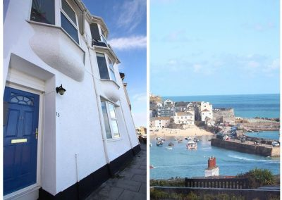 Outside Admiral's View, St Ives