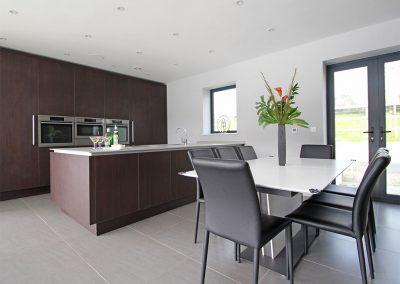 The kitchen & dining area at Ancarva, Millbrook