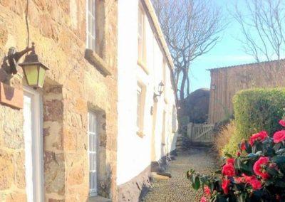 Outside Angel Cottage, Lizard