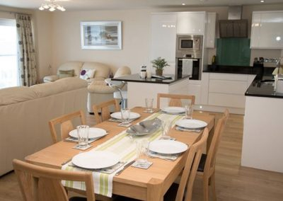 The open plan living and dining area @ Apartment 11 Latitude 51, Bideford