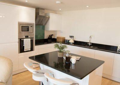 The kitchen @ Apartment 11 Latitude 51, Bideford