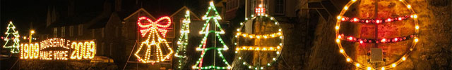 Mousehole is a particularly popular gathering point for the locals who spend weeks before Christmas erecting lights all over the harbour wall, surrounding streets and even out to sea!