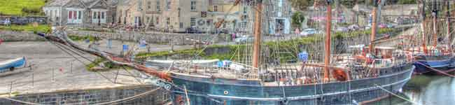 Charlestown is an excellent and quiet place to base yourself in if you want to relax, yet be close to some of Cornwall's main attractions, including the lively market town of St Austell and the spectacular Eden Project.